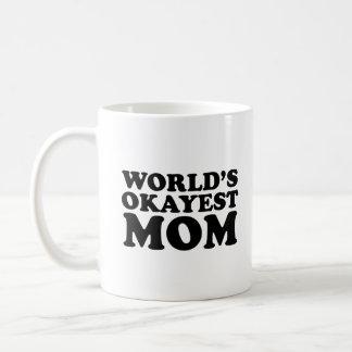 世界のOkayestのお母さん コーヒーマグカップ