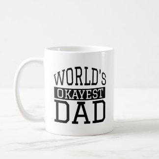 世界のOkayestのパパ コーヒーマグカップ