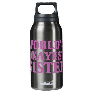 世界のOkayestの姉妹 断熱ウォーターボトル