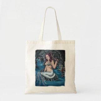 世界のsteampunkの人魚のバッグの影 トートバッグ