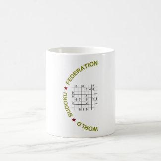 世界のSudoku連合 コーヒーマグカップ