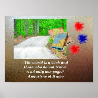 世界は本です ポスター