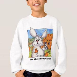 世界は私のにんじんです! スウェットシャツ