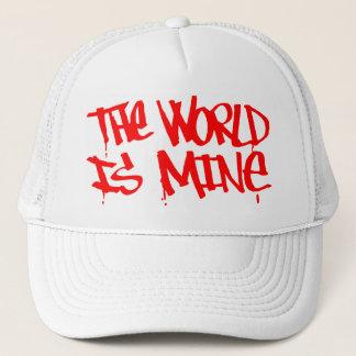 世界は鉱山の帽子です キャップ