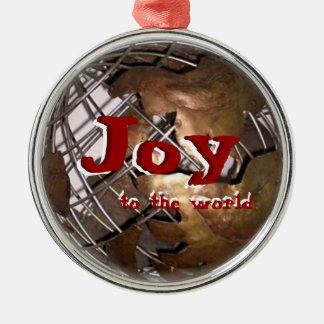 世界への喜び メタルオーナメント