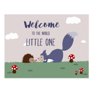 世界への歓迎 ポストカード