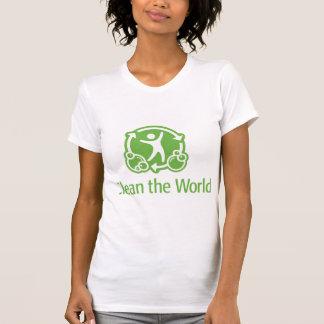 世界を一緒にきれいにするために割り当てます! Tシャツ