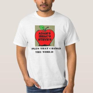 世界を変えたりんご Tシャツ