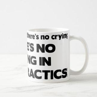 世界カイロプラクティック連合の泣き叫び無し コーヒーマグカップ