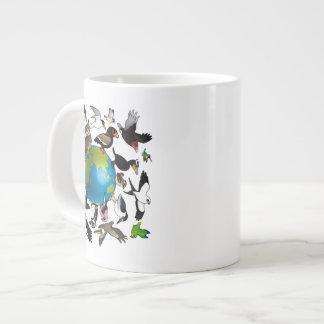 世界中のBirdorables ジャンボコーヒーマグカップ