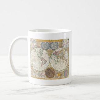 世界地図のギフト コーヒーマグカップ