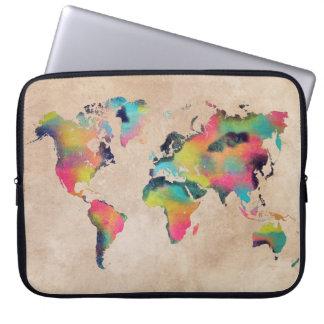 """世界地図のネオプレンのラップトップスリーブ15"""" ラップトップスリーブ"""