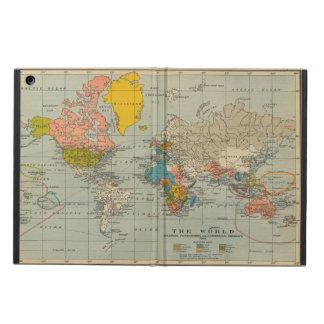 世界地図の小型iPadの場合 iPad Airケース