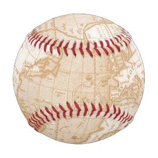 世界地図の野球 野球ボール