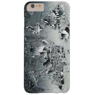 世界地図の陸標のコラージュ BARELY THERE iPhone 6 PLUS ケース