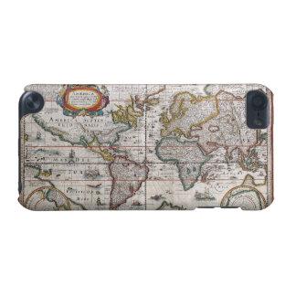 世界地図のipod touchの旧式な場合 iPod touch 5G ケース