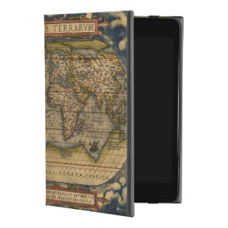 世界地図のOrteliusの型枠 iPad Mini 4ケース