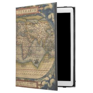 """世界地図のOrteliusの型枠 iPad Pro 12.9"""" ケース"""