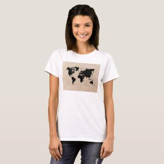 世界地図のTシャツ Tシャツ