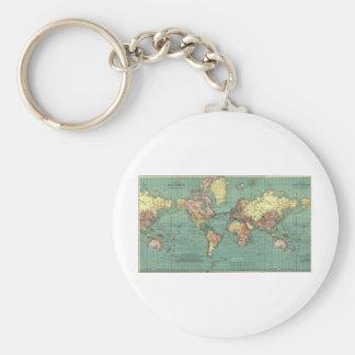 世界地図1919年 キーホルダー