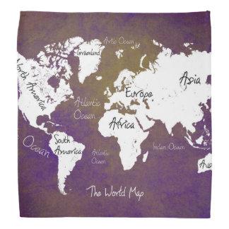 世界地図2 バンダナ