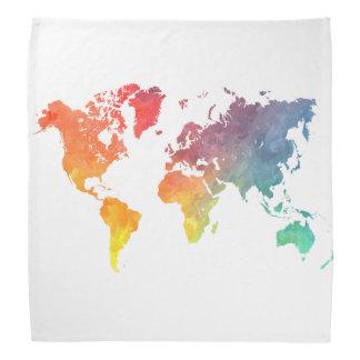 世界地図5 バンダナ