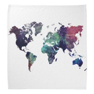 世界地図6 バンダナ