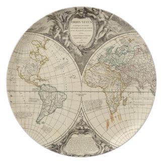 世界地図8 プレート