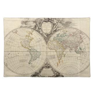 世界地図8 ランチョンマット