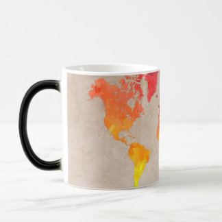 世界地図9 モーフィングマグカップ