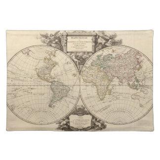 世界地図9 ランチョンマット