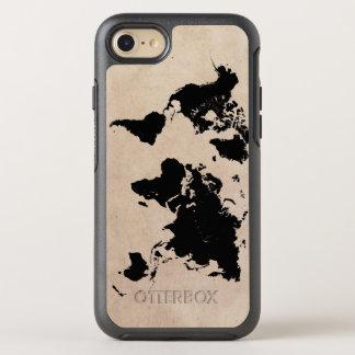 世界地図 オッターボックスシンメトリーiPhone 7 ケース