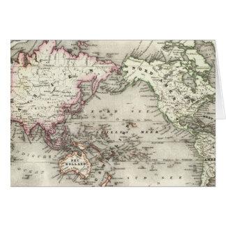 世界地図 カード