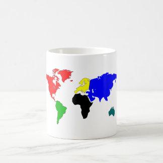 世界地図 コーヒーマグカップ