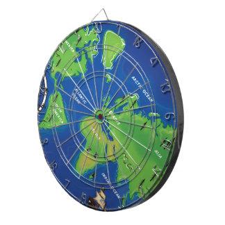 世界地図 ダーツボード