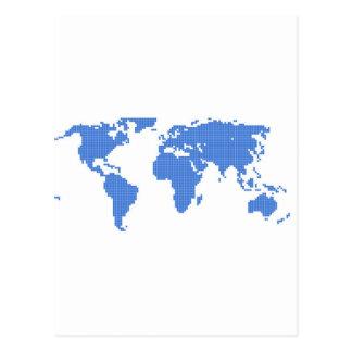 世界地図 ポストカード