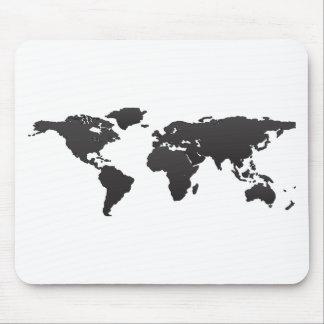 世界地図 マウスパッド