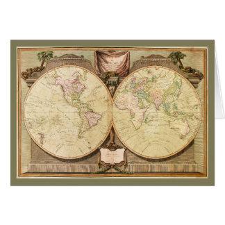世界地図(1808年) カード
