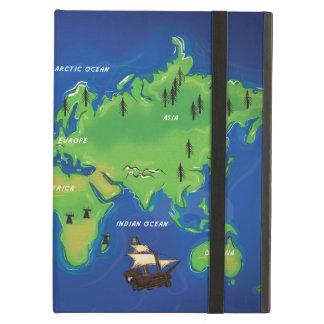 世界地図 iPad AIRケース