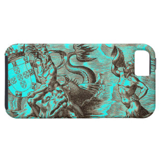 世界地図Poseidon iPhone SE/5/5s ケース