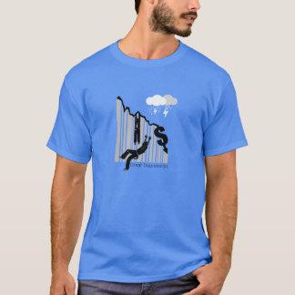 世界大恐慌の株式市場のワイシャツ Tシャツ