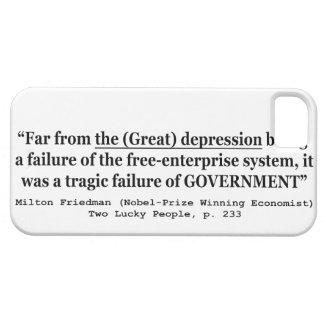 世界大恐慌は政府の失敗でした iPhone SE/5/5s ケース