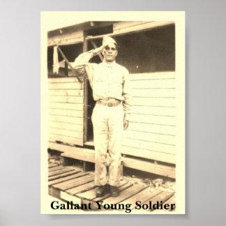世界大戦のllの兵士 ポスター