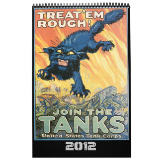 世界大戦ポスターカレンダー カレンダー