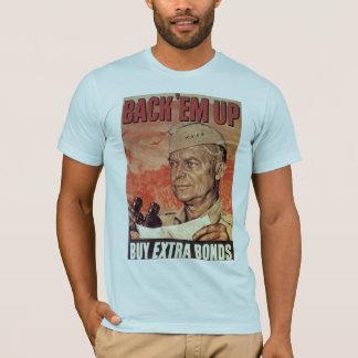世界大戦2の背部Em Tシャツ