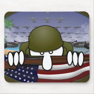 世界大戦2のKilroyのマウスパッド マウスパッド