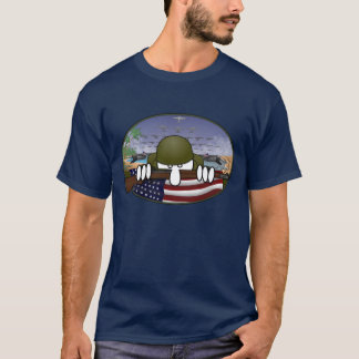 世界大戦2のKilroyの暗闇のTシャツ Tシャツ