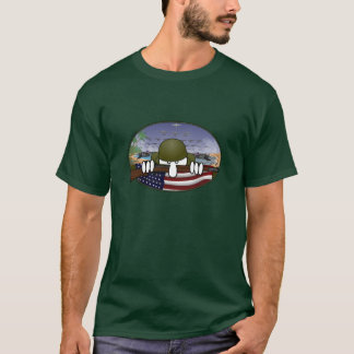 世界大戦2のKilroyの緑のTシャツ Tシャツ