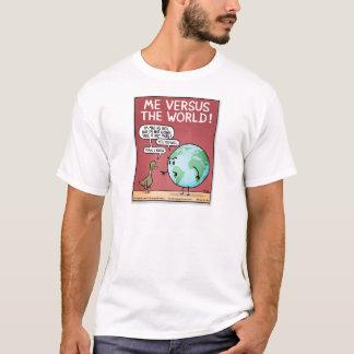 世界対私 Tシャツ