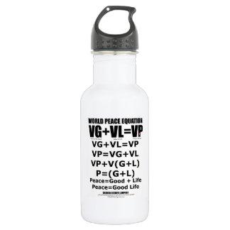 世界平和同等化 ウォーターボトル